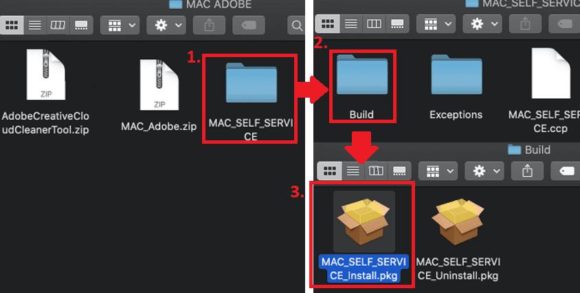 Sýning á hvernig á að keyra Adobe Uppsetninguna á MAC